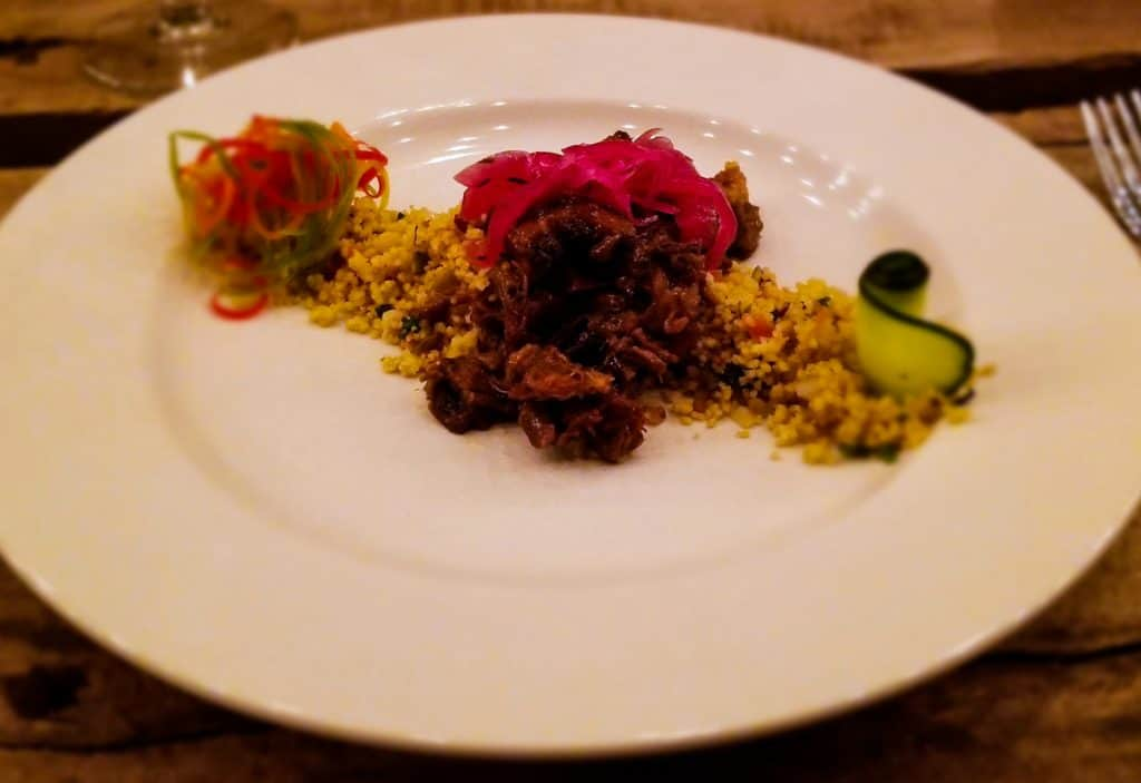 Traveler's Table Yucatan food experience Oxtail stew with couscous
