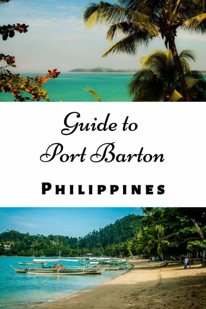 Pin for Port Barton Philippines