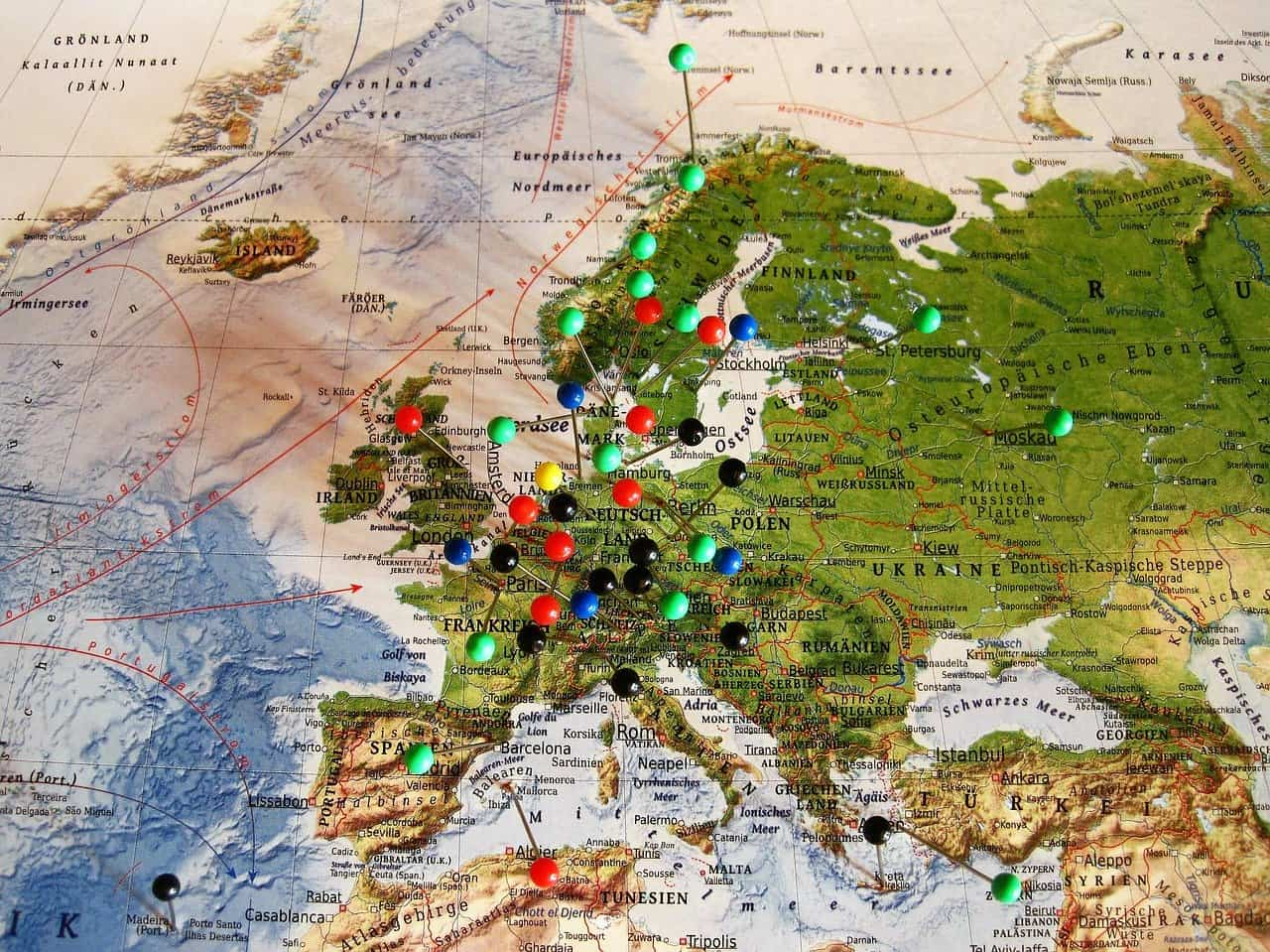 Cheapest way to travel Europe