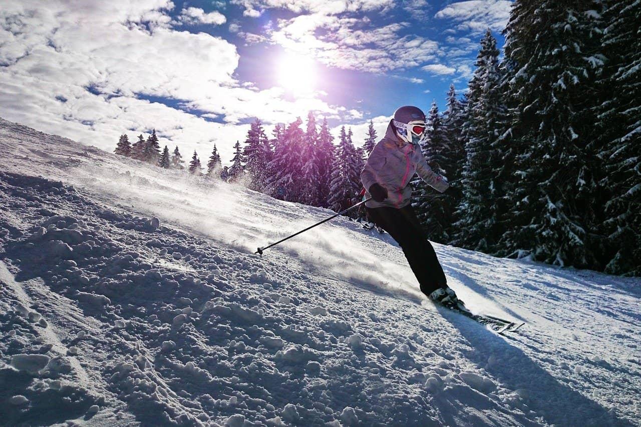 Jackson Hole winter skiing