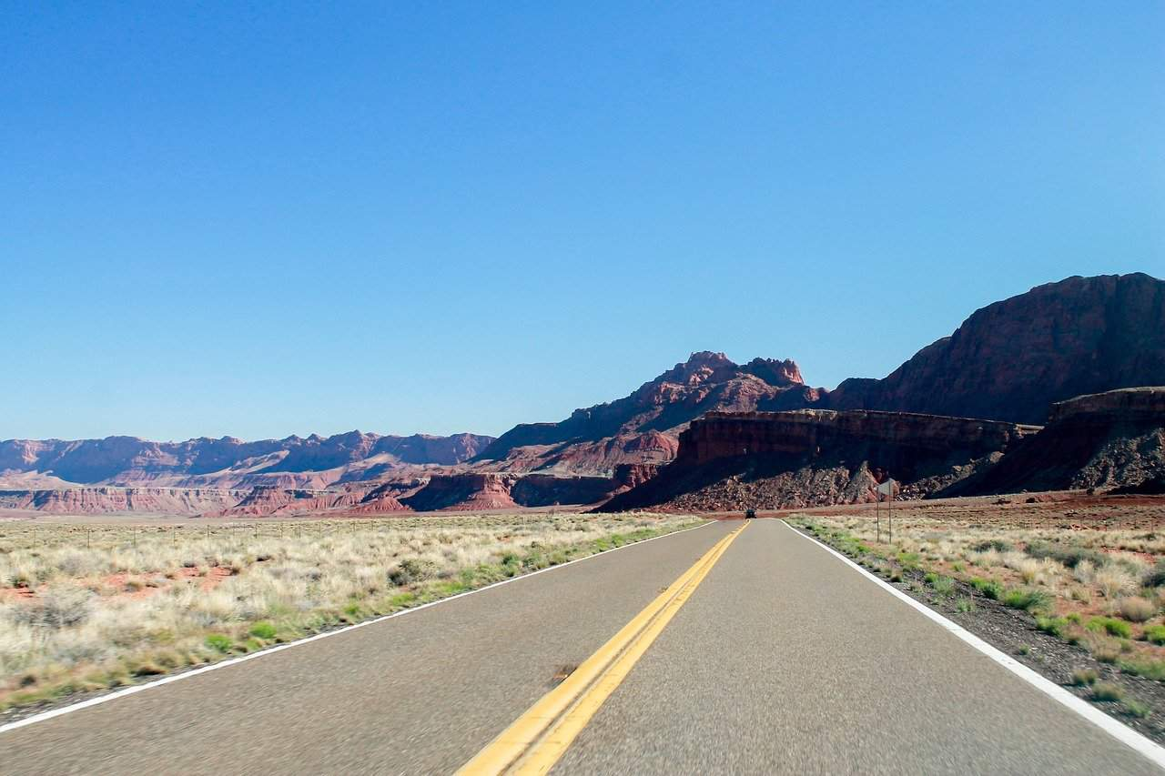 Road from Flagstaff to the Grand Canyon