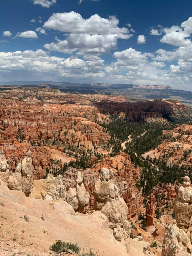 View of Bryce Canyon National Park in USA