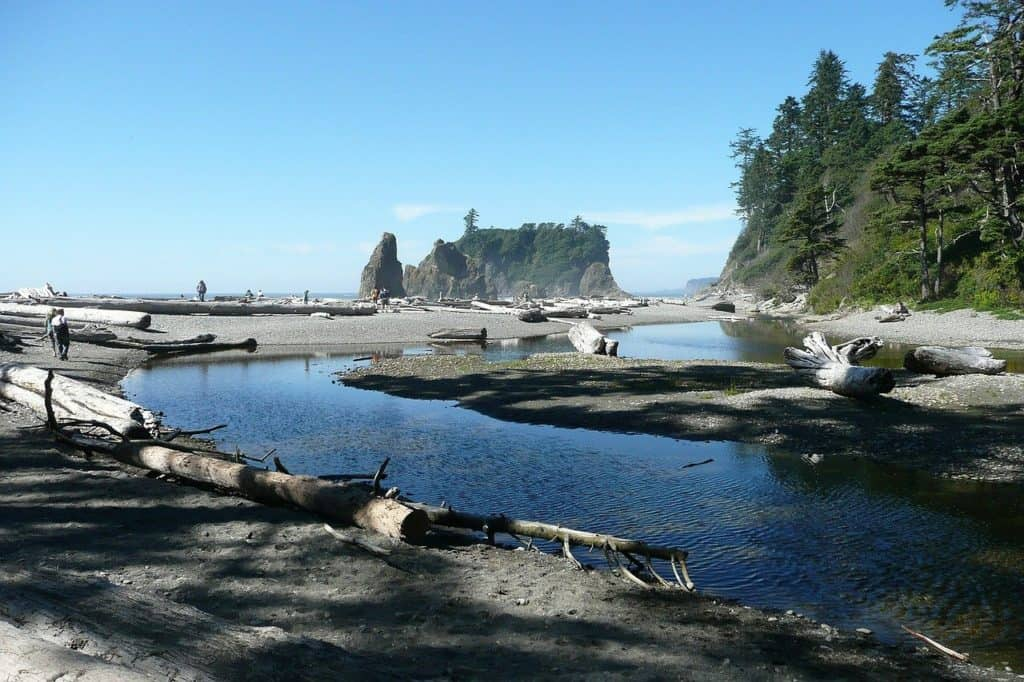 Ruby Beach at Olympic National Park