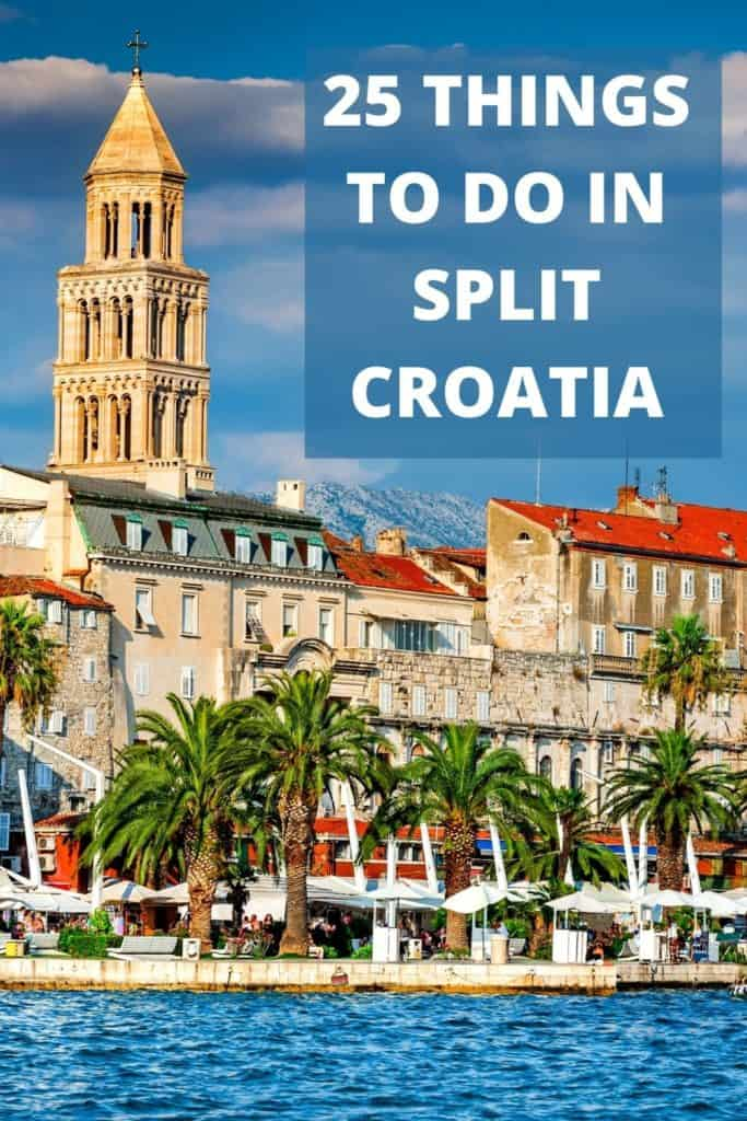 Planning a trip to Split, Croatia? Get started with this ultimate list of things to do in Split. You'll love this Dalmatian Coast beauty. #Split #Croatia