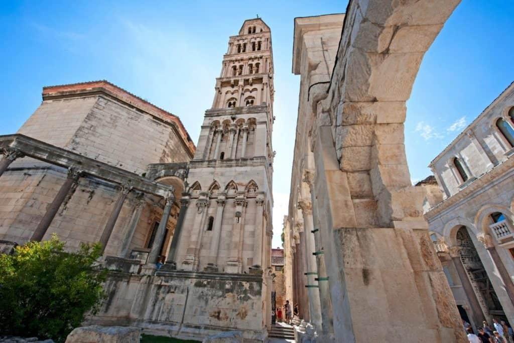 Bell Tower in Split Croatia